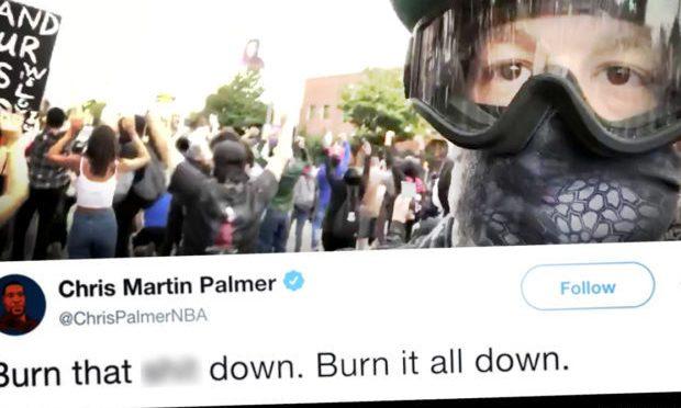 Giornalista esalta saccheggi BLM fino a che non arrivano sotto casa sua