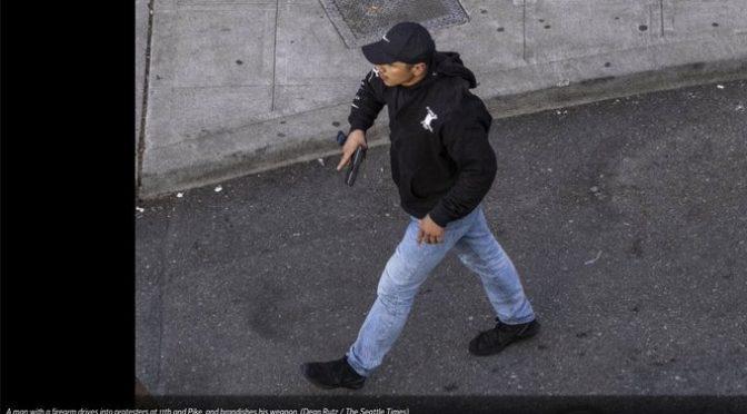 Bufale: Repubblica si inventa attentato KKK contro manifestazione BLM
