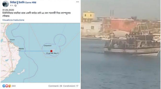 Governo traina barcone clandestini a Lampedusa: trafficanti esultano