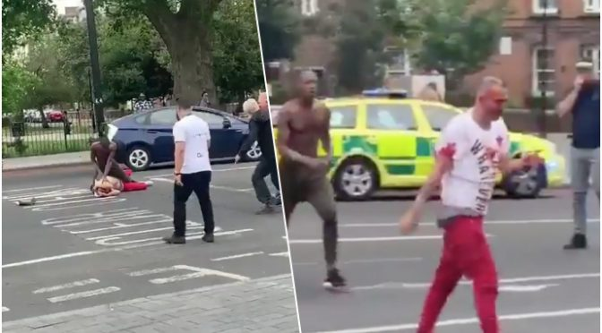 BLM: massacrato a sangue da africano a Londra – VIDEO