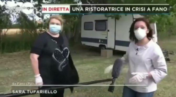 """Vive in roulotte, """"col virus ho perso tutto"""": chi sbarca dorme in hotel"""