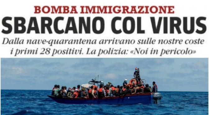 Altri immigrati positivi a Lampedusa: il contagio arriva coi barconi