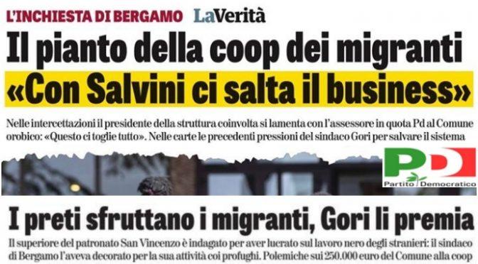 Bergamo, soldi a Caritas e Coop che lucravano sugli immigrati invece che agli ospedali
