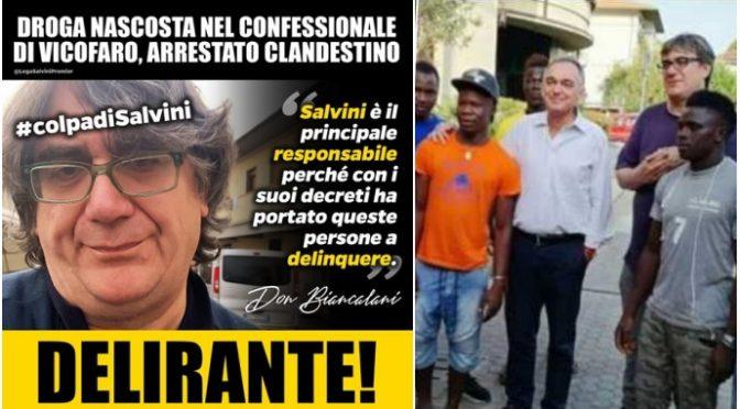 """Biancalani difende i suoi spacciatori: """"Delinquono per colpa Salvini"""""""