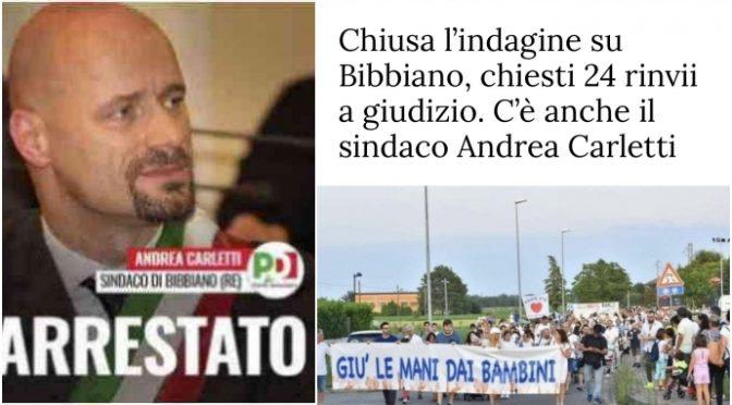 Chiusa indagine sui mostri di Bibbiano: rinvio a giudizio per il sindaco PD