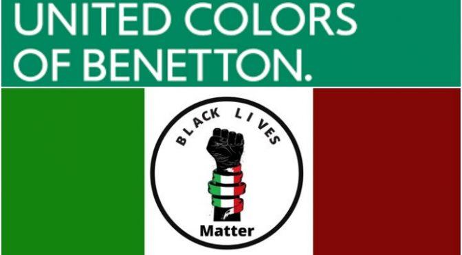 Sardine in piazza con i teppisti di BLM: tricolore profanato