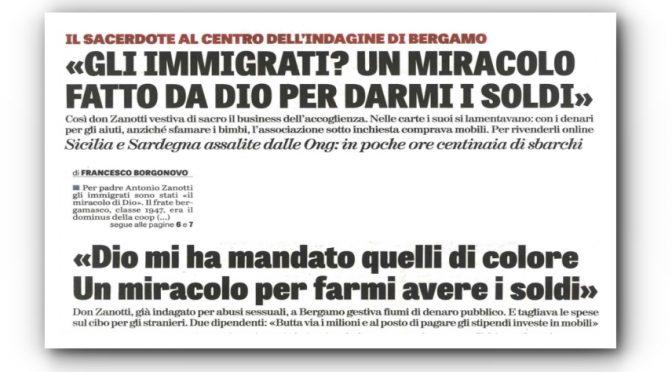 """PRETE CARITAS PATTEGGIA 4 ANNI DI CARCERE: """"DIO MI HA MANDATO I NERI PER FARE SOLDI"""", A LETTO COI PROFUGHI"""