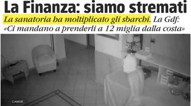 Panico: immigrati fuggono da quarantena e assaltano le case – VIDEO