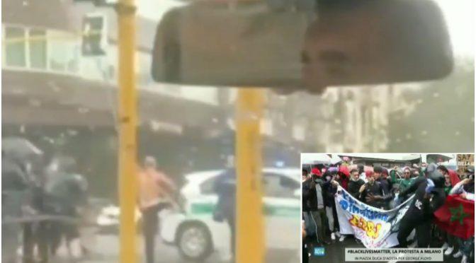 Agente chiede a immigrati 'rispetto distanze': 'lapidato' a colpi di pietre