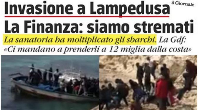 """Assalto a Lampedusa, militari: """"colpa sanatoria, li andiamo a prendere ovunque"""""""
