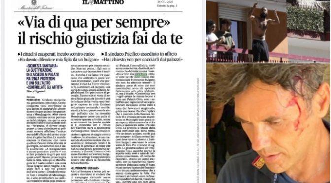 """Mondragone, i rom bulgari molestano le figlie degli italiani: """"Via da qui per sempre"""""""