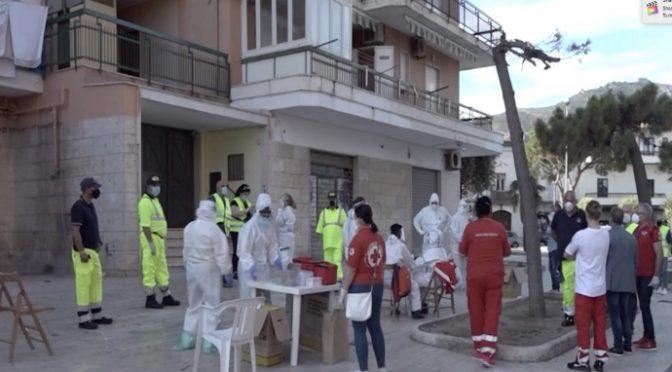 Mondragone, scomparsi rom contagiati e sale a 40 numero infetti