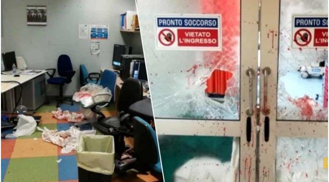 Famiglia rom devasta ospedale: curate prima noi degli italiani