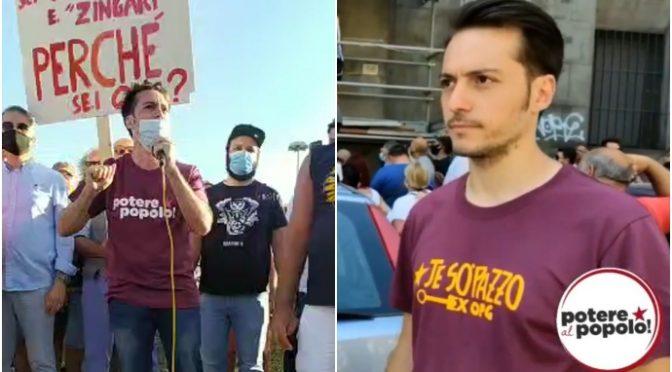 Ha guidato gli assalti a Salvini, candidato in Campania