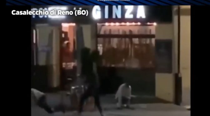 Rissa tra pizzaioli pakistani infetti a Bologna – VIDEO