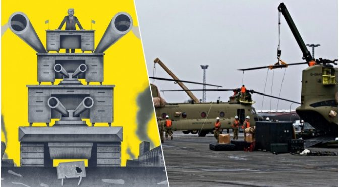 Truppe aviotrasportate a Washington: Trump dichiara guerra al deep state