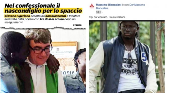Troppi spacciatori: esposto per chiusura centro immigrati don Biancalani