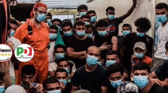 """Porto Empedocle invasa da clandestini: """"A contatto con gente infette"""", Conte in fuga"""