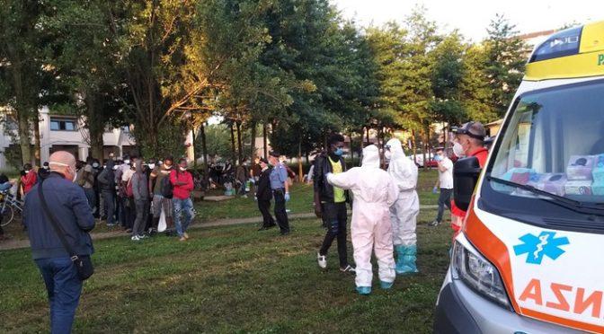 Epidemia di coronavirus tra decine di immigrati africani a Saluzzo