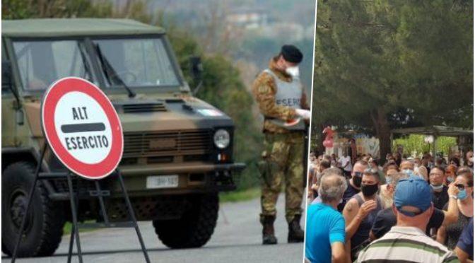 GOVERNO INVIA ESERCITO PER PROTEGGERE CLANDESTINI INFETTI DA ITALIANI