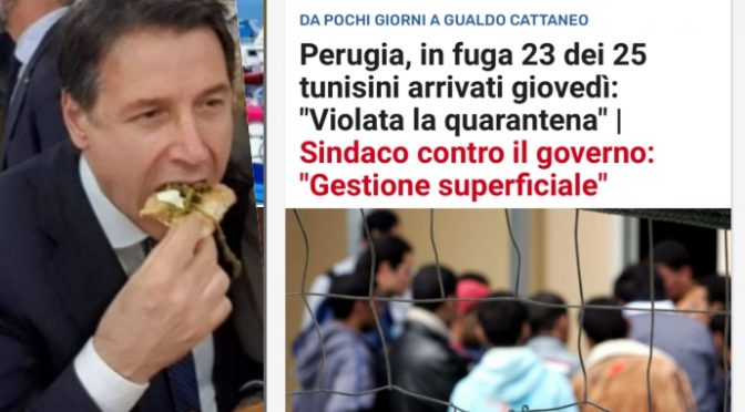 Fuggiti 23 tunisini da quarantena, bomba coronavirus sull'Italia: governo nasconde notizia per giorni