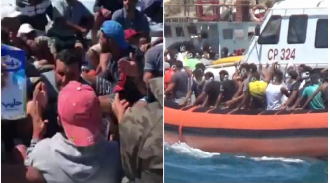 Proseguono sbarchi a Lampedusa: nave quarantena non basta