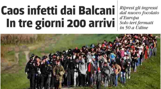 """Esercito islamico in marcia verso la frontiera al grido """"Italia, Italia"""" – VIDEO"""
