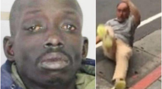 """Anziano massacrato da africano: """"Non respiro"""", e gli schiaccia la testa a calci"""