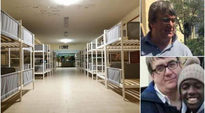 Parrocchia don Biancalani focolaio, zona rossa: venti immigrati in fuga – VIDEO