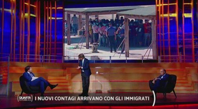I nuovi contagi arrivano con gli immigrati e il governo spalanca i porti – VIDEO