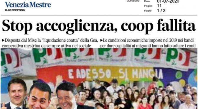 Coop chiude per i tagli di Salvini: ecco perché il PD vuole abrogare i decreti sicurezza