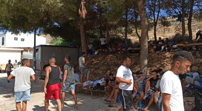 Lampedusa: centro immigrati stracolmo di invasori – VIDEO