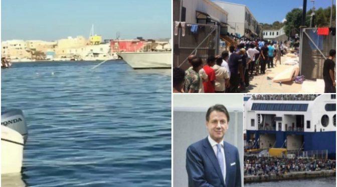 Governo dell'invasione: annuncia altri 10mila sbarchi in Sicilia
