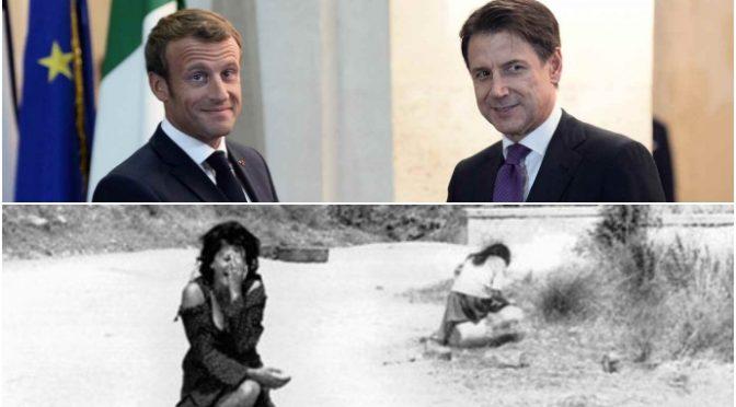 Macron, offesa all'Italia: strade francesi avranno nomi dei soldati africani delle Marocchinate