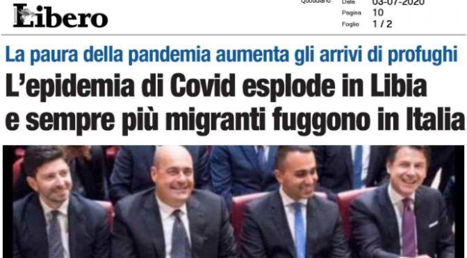 Immigrati ci stanno riportando il coronavirus: indice Rt supera 1 in Lazio, Emilia e Veneto grazie a loro