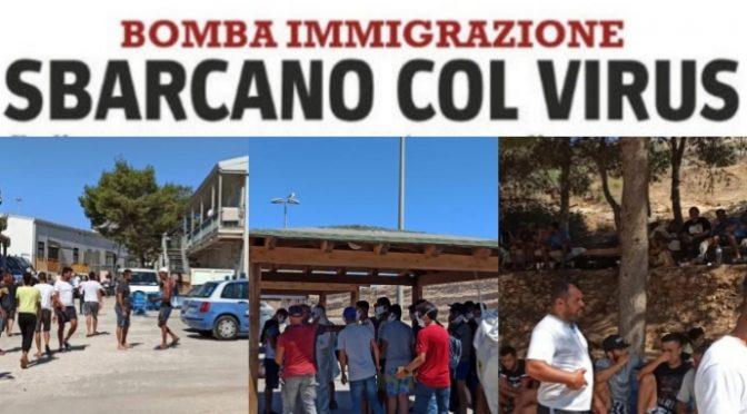 Troppi sbarchi: Sicilia verso zona gialla ad agosto, regione con più contagi in Italia