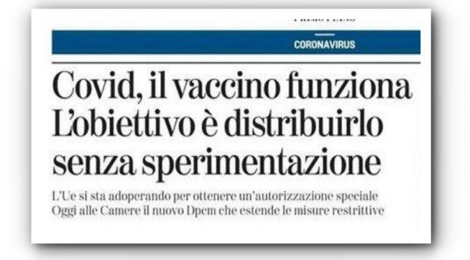 Vaccino genico, Ricciardi lo vuole rendere obbligatorio: rivolta scienziati
