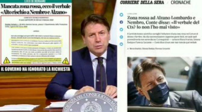 Coronavirus, Conte e 6 ministri indagati: avvisi di garanzia per la strage