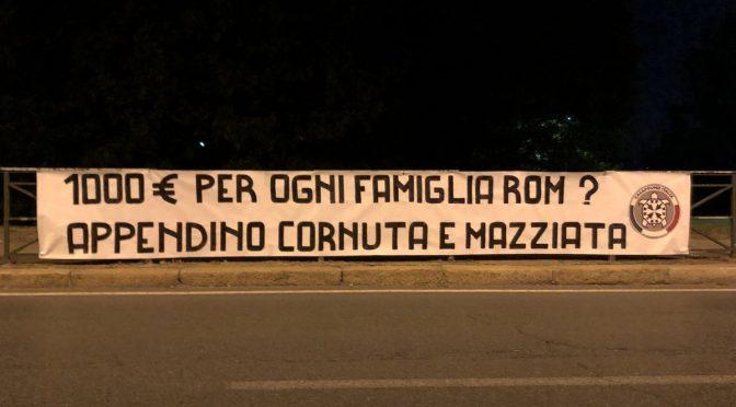 Genio grillino: 1.000 euro ad ogni Rom per rimanere a Torino