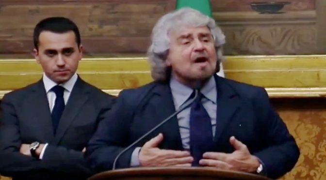 Ciro/2: Grillo butta giornalista giù dalle scale