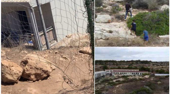 Lampedusa, clandestini appena sbarcati svaligiano le case – VIDEO