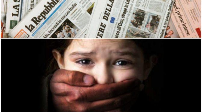 Bimba di 18 mesi stuprata a morte da immigrato: giornali nascondono notizia