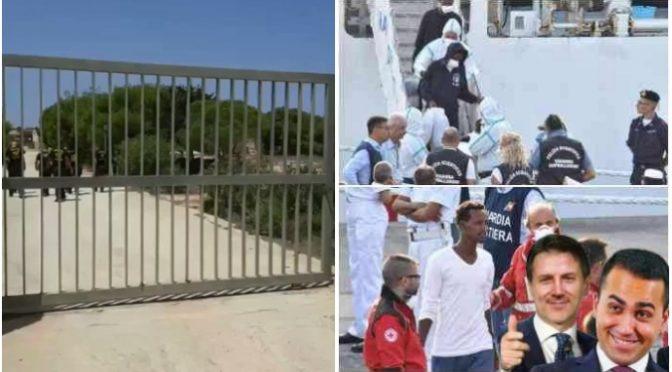Lampedusa, Conte caccia i bambini italiani per fare posto ai clandestini – VIDEO CHOC