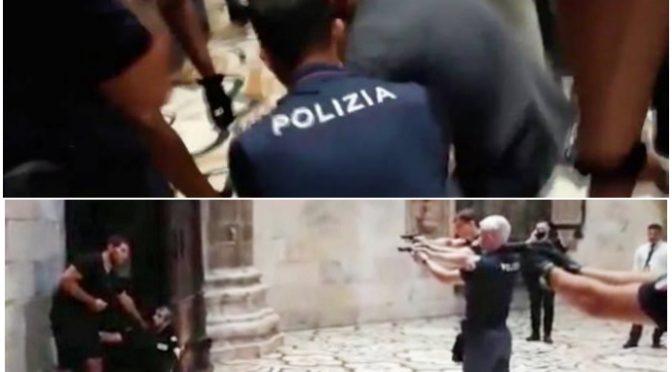Duomo, poliziotti si sono feriti perché non potevano sparare all'egiziano armato di coltello