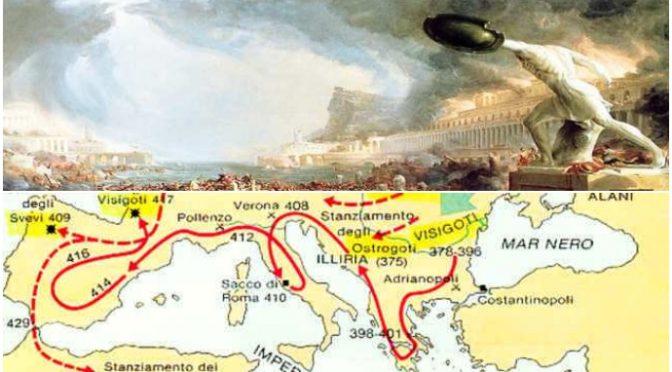 Sono stati i migranti a distruggere l'Impero Romano: ora vogliono distruggere noi