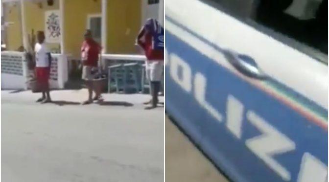 """TUNISINI ESCONO DA HOTSPOT LAMPEDUSA, POLIZIA: """"NON POSSIAMO FERMARLI"""" – VIDEO"""