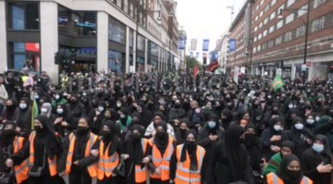 Londra è caduta in mano islamica: conquistata coi 'ricongiungimenti familiari' – VIDEO CHOC
