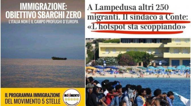 SICILIA SCOPPIA DI CLANDESTINI: LAMPEDUSA AL COLLASSO CHIUDE HOTSPOT