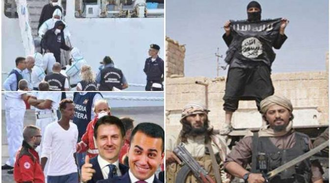 Conte fa sbarcare migliaia di infetti e terroristi armati di molotov ma non lo processano