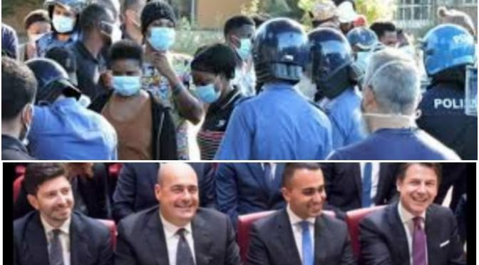 Africani sparano e investono poliziotti: terrore a Roma